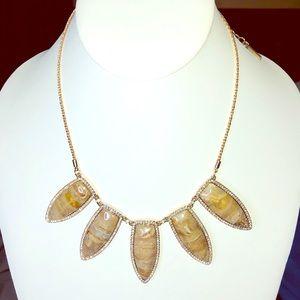 WHBM Semi-Precious Stone Necklace
